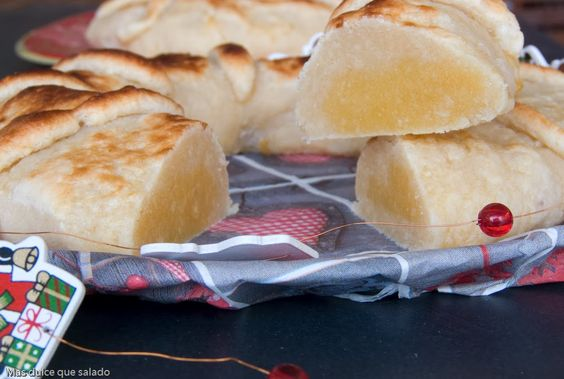 Más dulce que salado: Mazapán de Yema