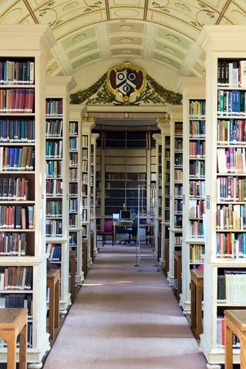 Brasenose College Library, Oxford #libraries #pics