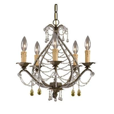 (CLICK IMAGE TWICE FOR UPDATED PRICING AND INFO) #home #ceiling #homeimprovement #homedecor #lighting  #lights #lightandfixture #chandeliers see more chandeliers at http://www.zbrands.com/Chandeliers-C35.aspx -Crystorama Chandeliers - Abigail 5 Light Mini Chandelier Finish: Birch