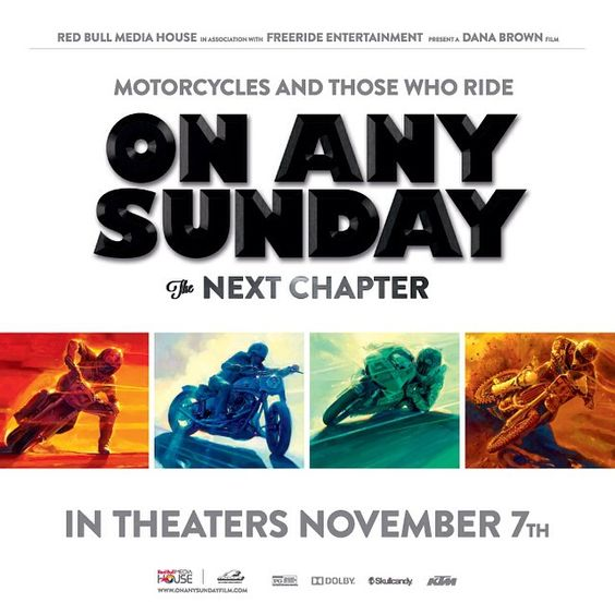 Nationwide premier Saturday. Join us in #Atlanta at Movies ATL Camp Creek Pkwy for 2:25 show. Come early to fill up on #RedBull and talk about bikes or find a screening in your area at win.gs/OASscreenings. #onanysunday #nextchapter #Padgram