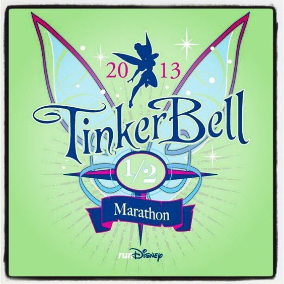 Once month away! #tinkerbell #rundisney #autismspeaks