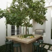 Resultado de imagen para ideas para hacer mesa alrededor - Ideas para un jardin ...