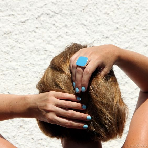 xroma - {.k.} blog handmade, jewellery, jewellery designer, made in Greece, etsy, etsy shop, etsy seller, colorful, κοσμηματα, χειροποιητα, δαχτυλίδι, ring, γαλάζιο, Light blue, summer, θαλασσί