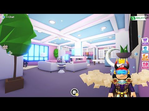 Futuristic Home 2 House Design With Madammadhouse Tour In Adopt Me Roblox Youtube Futuristic Home Unique House Design Cute Room Ideas