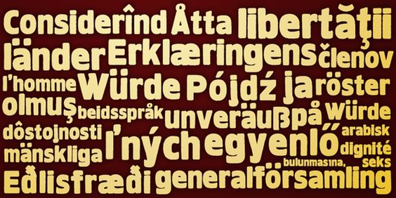 HWDP Font Family Cover