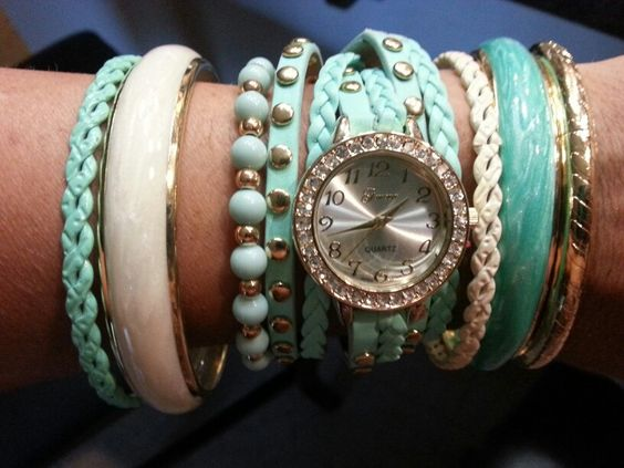 Watch & bangles.  Love.  Watch from tillys & bracelets from wetseal