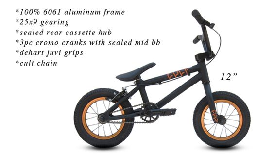 12 Inch Bmx Bikes For Sale Cult S New 12 Inch Complete Is Aimed