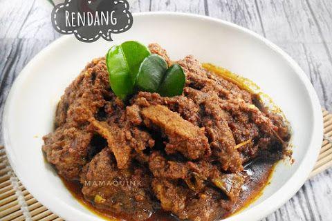 Resep Rendang Ala Rumahan Sederhana Makanan Dan Minuman Resep Masakan Indonesia Resep