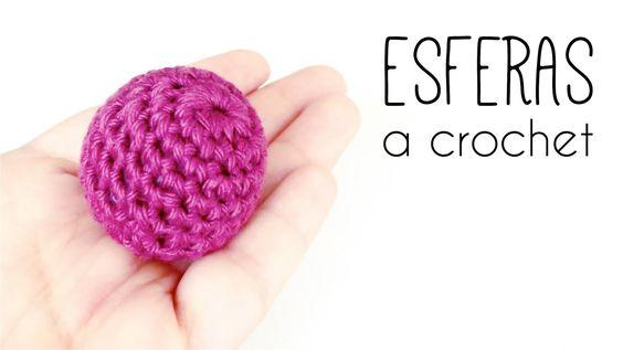 Como tejer una ESFERA a crochet (ganchillo) TODOS LOS TAMAÑOS   How to c...