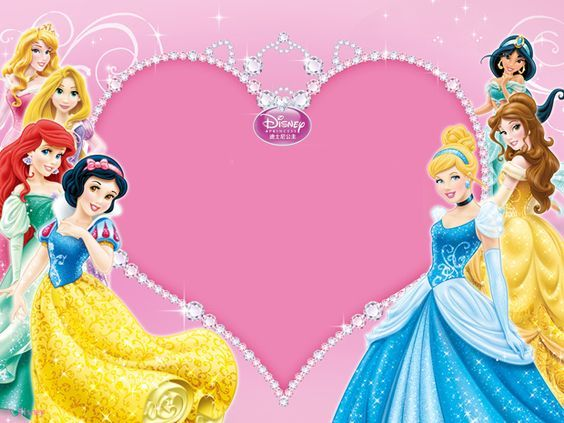 Convite Princesas Para Editar E Imprimir Gratis Aniversario Com