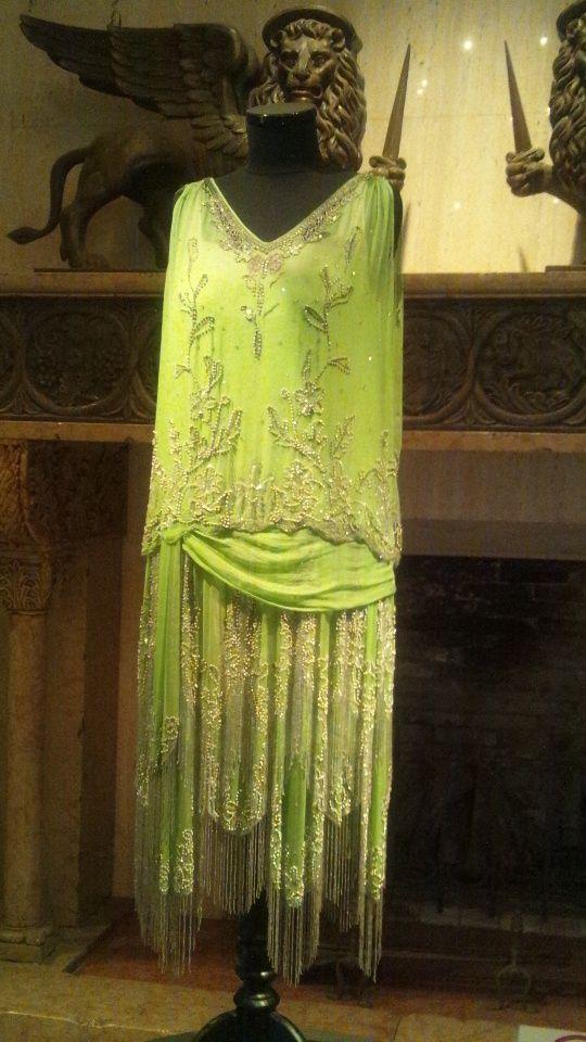 Hakone Venetian Glass Museum  Charleston Dress