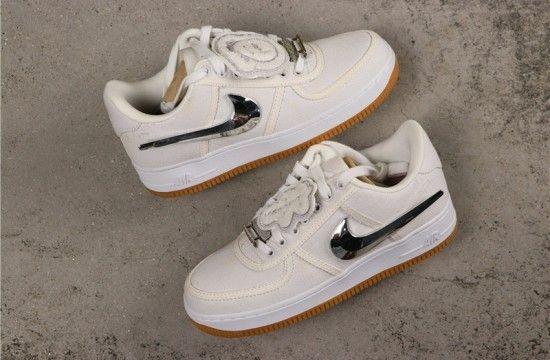 Nike Air Force 1 Low Travis Scott Sail Aq4211 101