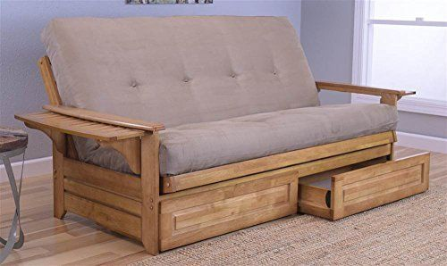 Phoenix Futon In Ernut Finish With