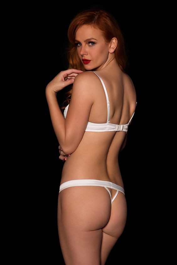 #lingerie #white #Honey Birdette