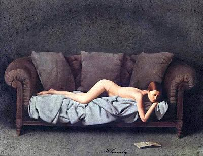 Reading and Art: Alexander Bartashevich, Nude 6: