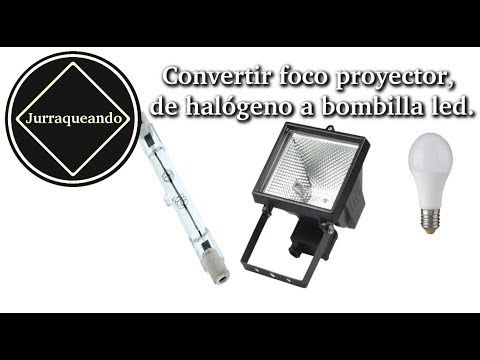 Como Transformar Un Foco Ahorrador En Foco Led Youtube Bombillas Led Bombillas Led