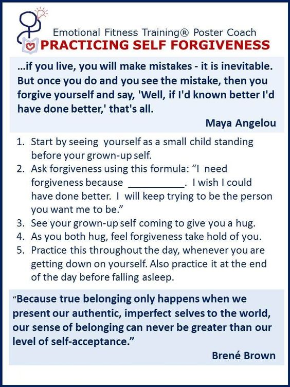 Printables Self Forgiveness Worksheets the ojays and happiness on pinterest practicing self forgiveness
