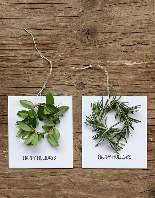 beyond mildly obsessed with these mini herb wreaths
