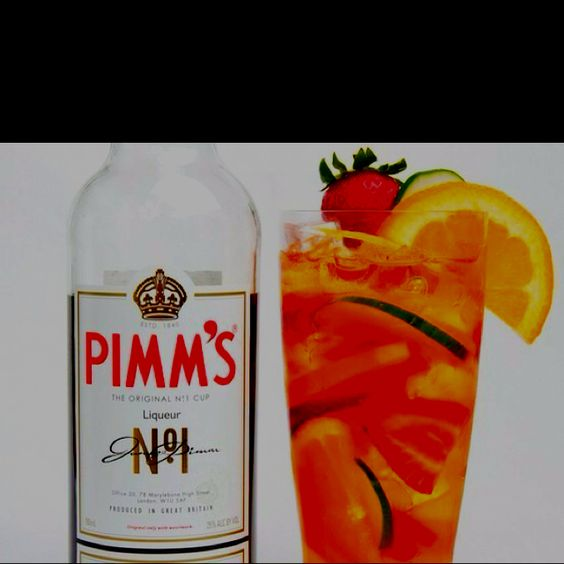 I love me some Pimm's!