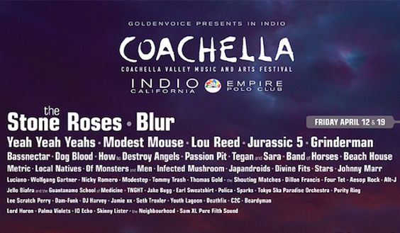 Music Festival Schedule 2013....... never wanted to go soo bad!!!!! :-( :-(