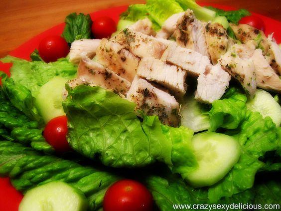 Olive Oil Oregano Chicken Salad
