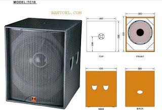 Ukuran Box Subwoofer Jbl 18 Single Lapangan Bantoel Com Speaker Teknologi Desain