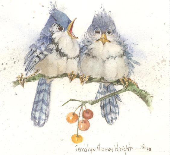 Bird Life | Carolyn Shores Wright:
