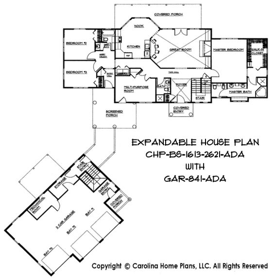 Build in stages flexible house plans to spread the budget for Flexible house plans