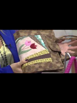 Porta livros lindo | Arte com Tecidos
