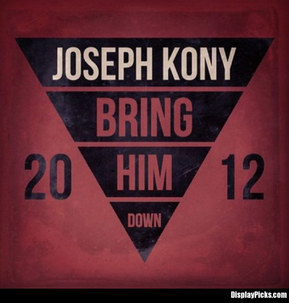 #Kony2012 - Use these images as your display pictures for your BBM, Twitter, Facebook, etc and show you are willing to fight the injustice