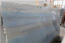 Polished Azul Macaubas Quartzite Slabs & Tiles,Brazil Blue Quartzite Wall Panel,Blue Quartzite for Countertop