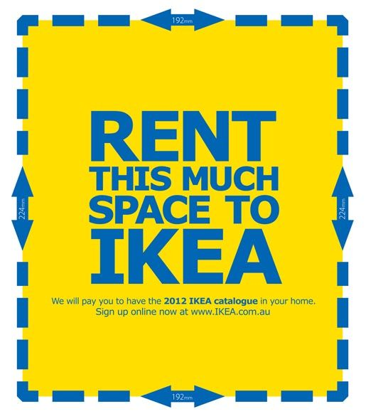 """Ikea will pay you a """"rent check"""" to have their annual catalog in your house"""