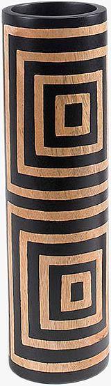 Artikeldetails:  Mango-Vase aus Holz, Hochwertige Verarbeitung, Farbe: braun,  Maße:  Maße (Ø/H): 10/36 cm,  ...