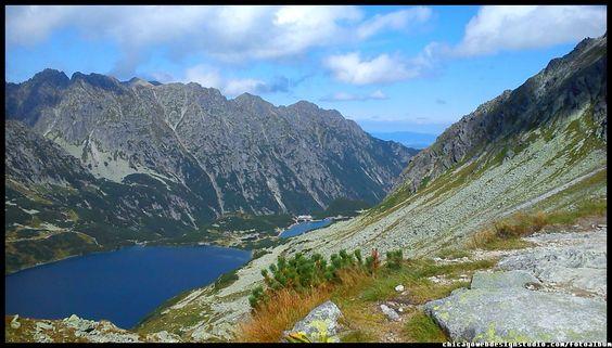 Czarny Staw pod Rysami i Morskie Oko ze szlaku na Szpiglasową Tatry / Góry / Tatra Mountains #Tatry #Tatra-Mountain #Góry #szlaki-górskie #piesze-wędrówki-po-górach #szczyty-górskie #Polska #Poland #Polskie-góry #Szpiglasowy-Wierch #Szpiglasowa-Przełęcz #Zakopane #Tatry-Wysokie #Polish Mountains #Morskie Oko #Czarny-Staw #na -szlaku-z-Doliny-Pięciu-Stawów-poprzez-Szpigla sową-Przełęcz-i-Szpiglasowy-Wierch-do-Morskiego-Oka #turystyka górska