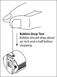 how to fix my sewing machine bobbin