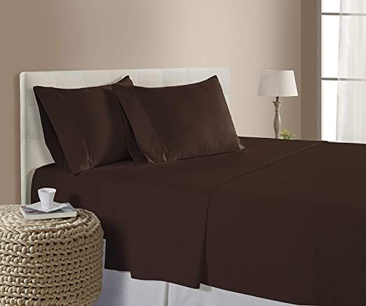 Incredible Beddings King Size 100 Cotton Hotel Luxury 1800 Thread Count Heavy Egyptian Cotton Sheets Set 4 Pcs King S Bed Sheet Sets Bed Sizes Adjustable Beds