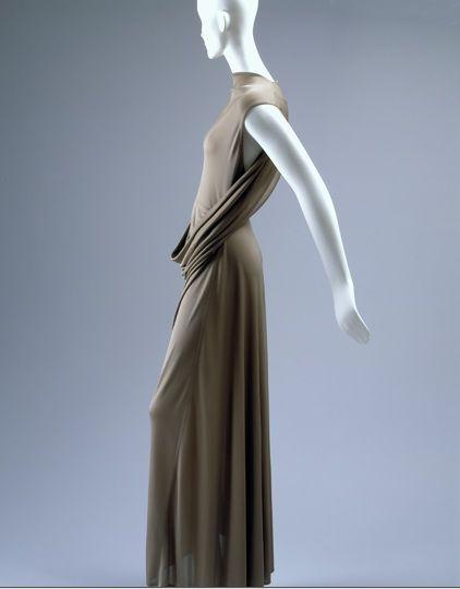 Isabel Toledo Kangaroo Pouch Dress, 1993