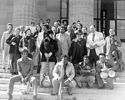 MFSB - the House band of Philadelphia International, recorded albums in their own right and were very successful. The first Philly album I bought was their TSOP(The Sound Of Philadelphia) and for me it all started there.