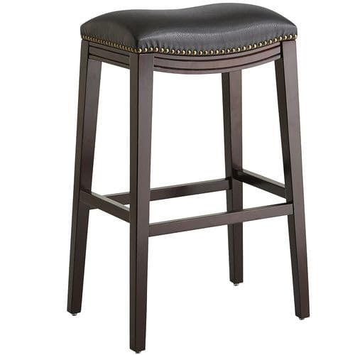 Black Backless Bar Stool Backless Bar Stools Counter Stools Backless Bar Stools Wood backless bar stool