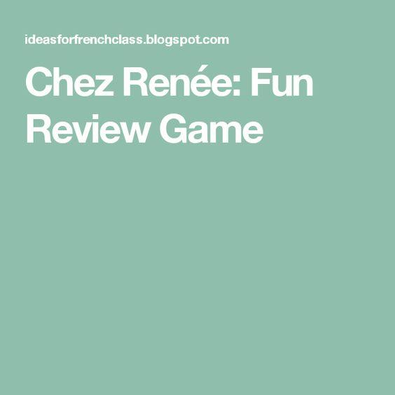 Chez Renée: Fun Review Game