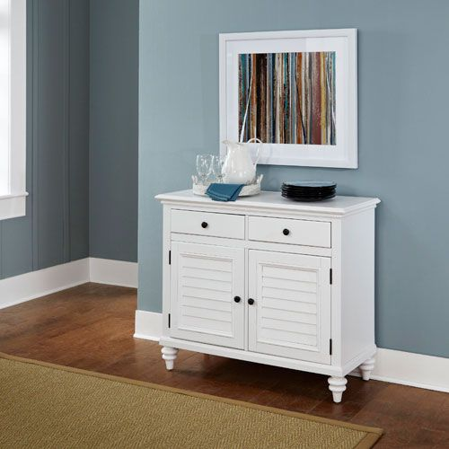 Bermuda Brushed White 365 Inch Buffet
