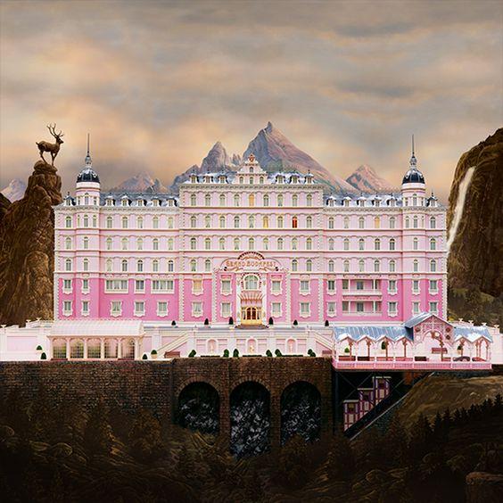 2014.6.9 The Grand Budapest Hotel ウェス・アンダーソン最新作「グランド・ブダペスト・ホテル」★★★
