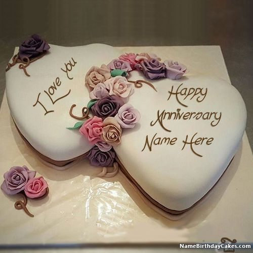 Romantic Happy Anniversary Images With Name D649 Png 500 500