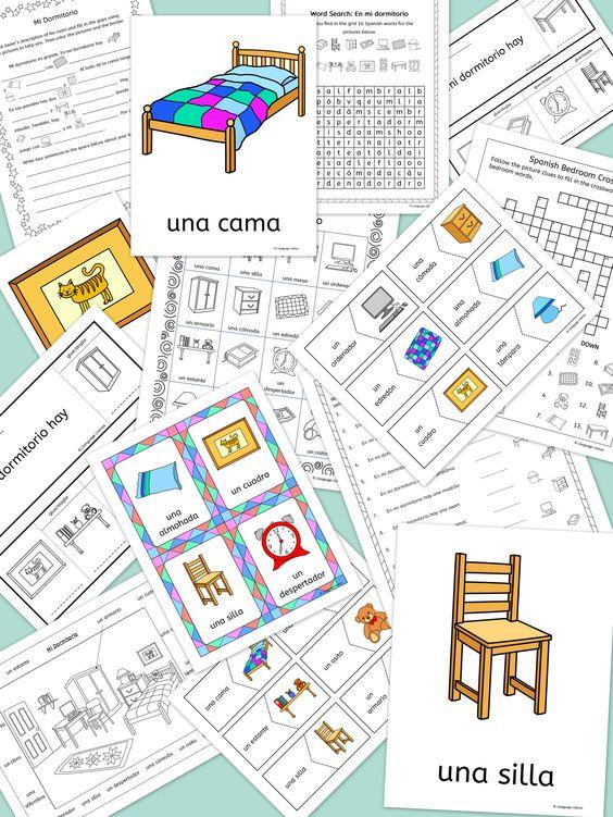 spanish bedroom mi dormitorio topic spanish