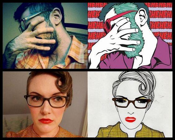 Muito legal o Selfless Portrait: um site para troca colaborativa e randômica de desenhos artísticos a partir de avatares do Facebook, feito pelos próprios usuários/participantes. Se eu soubesse desenhar...