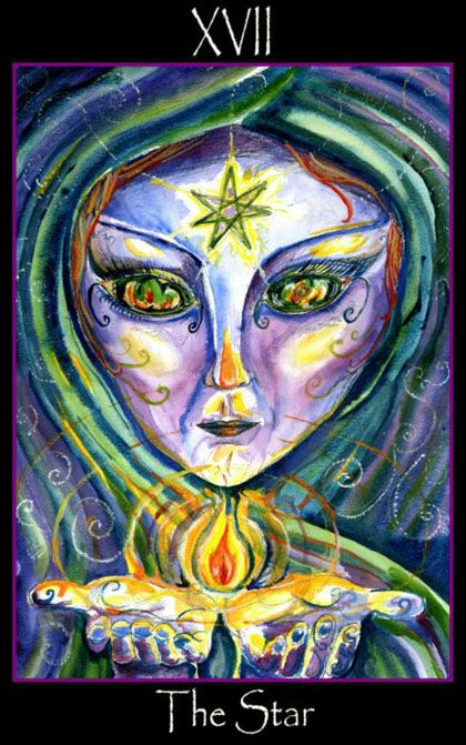 The Star  - Tarot of the Sidhe