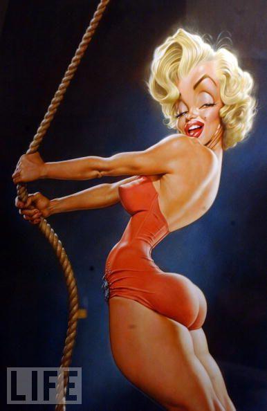 Marilyn Monroe by Sebastian Kruger