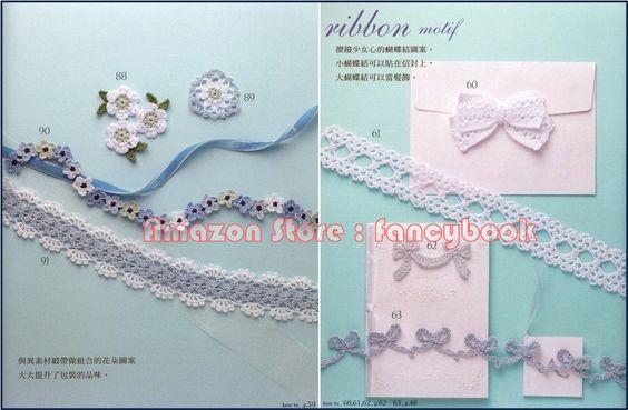 100 Floral Crochet Motif Edging Applique - Japanese Crochet Craft Book (Traditional Chinese Edition): Hiromi Endo, E&G Creates Co Ltd: Amazo...