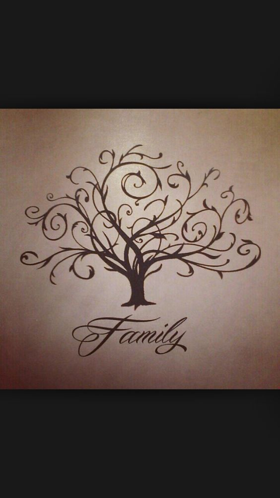 family tree tattoo tattoos pinterest stamps love the and barn wood. Black Bedroom Furniture Sets. Home Design Ideas