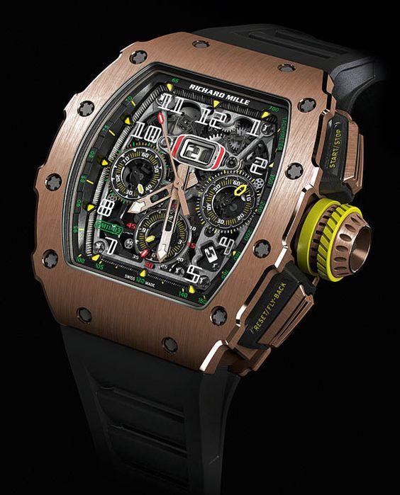 La Cote des Montres : La montre Richard Mille RM 11-03 Automatique Chronographe…